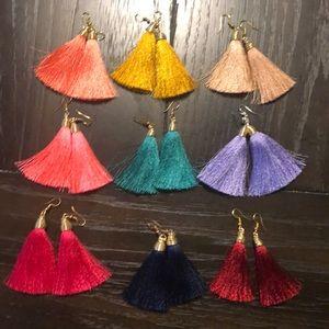 Jewelry - Handmade Tassel Earrings (Medium)